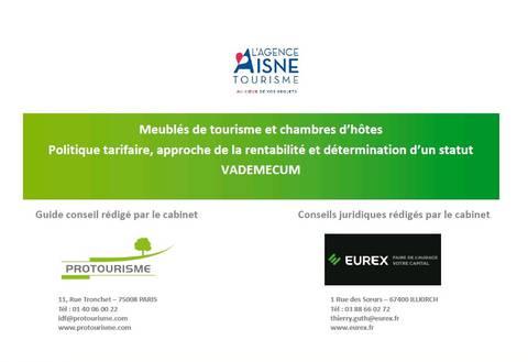 Guide conseil - Meublés de tourisme et chambre d'hôtes