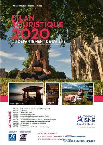 bilan touristique de l'Aisne  2020