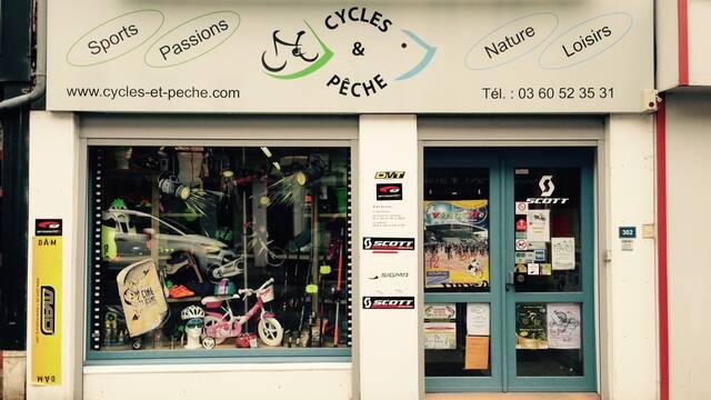 Le magasin Cycles et pêche à Guise labellisé Accueil Vélo