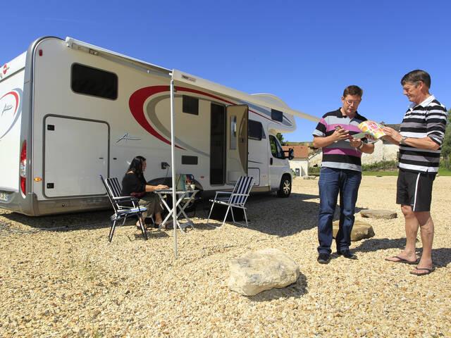 Aire d'accueil de camping-car de Chavignon